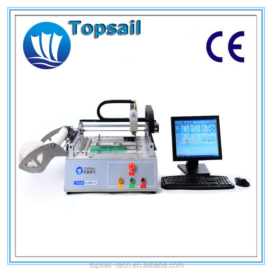 Desk top SMT pick and place machine for PCB assembly