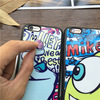 Mirror Surface Cute Monsters University Soft Silicone Phone Case For iPhone 5 5s SE 6 6S Plus Fundas Shockproof Protective Cover