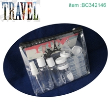 Cheap promotional plastic toiletry travel kits