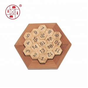 Christmas factory production ICTI certification games made from wood
