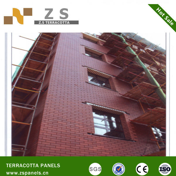 NEW style wall decaration Exterior Facade Panel Thin Facing Brick