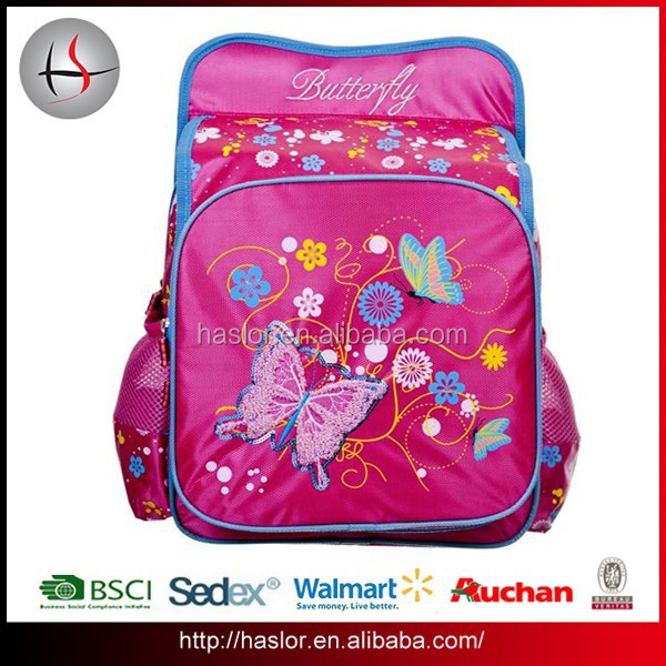 China Manufacturers Lovely New Design wholesale School Backpack For Girls