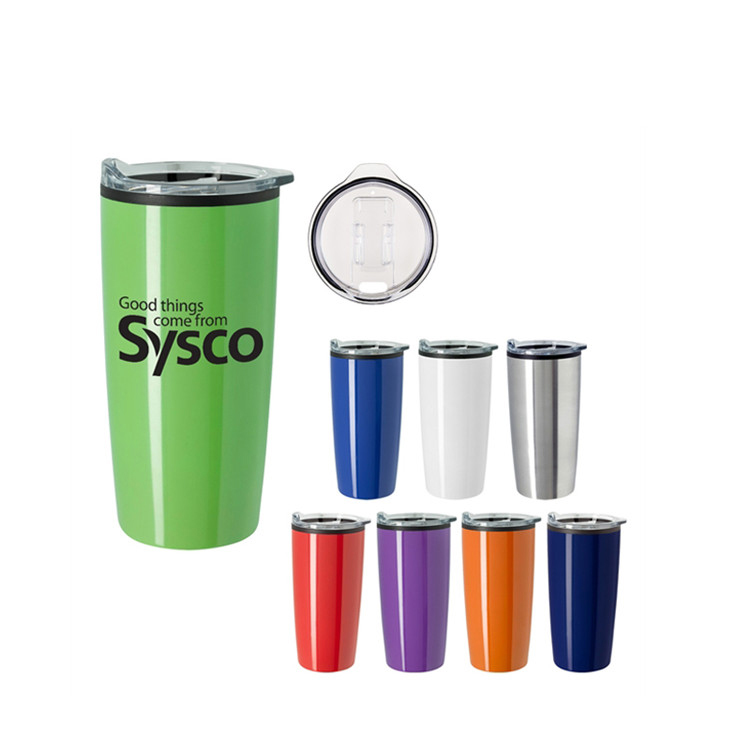 Customized Logo 20 oz Insulated Double Wall Stainless Steel Vacuum Tumbler