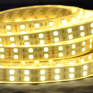 Double row led strip SMD5050 120leds/m led strip light RGB color 5M per reel LED Flexible Strip Light CE RoHs certification