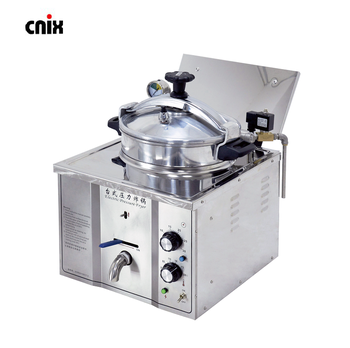 Cnix 2017 Small Restaurant Potatoes Chips Pressure Fryer