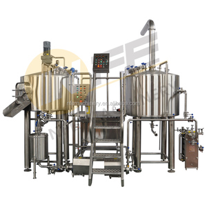 300L brewery equipment beer fermenting turnkey plant for bar / pubs / brew kettle systrem