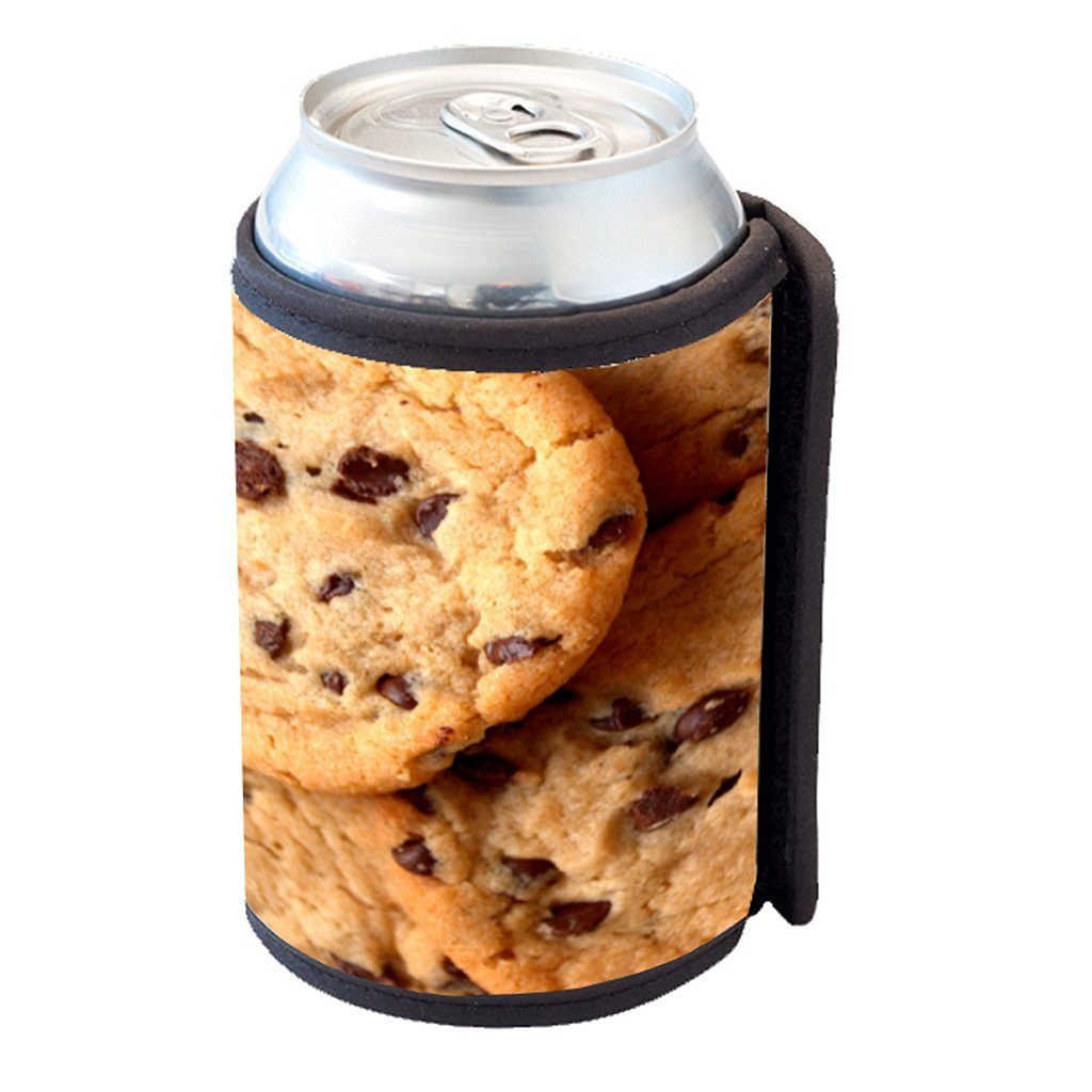 Chocolate Chip Cookies - Can Cooler Bottle Hugger