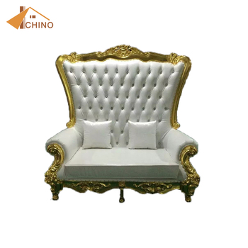 New Products Used Sofa Throne Chair Queen King