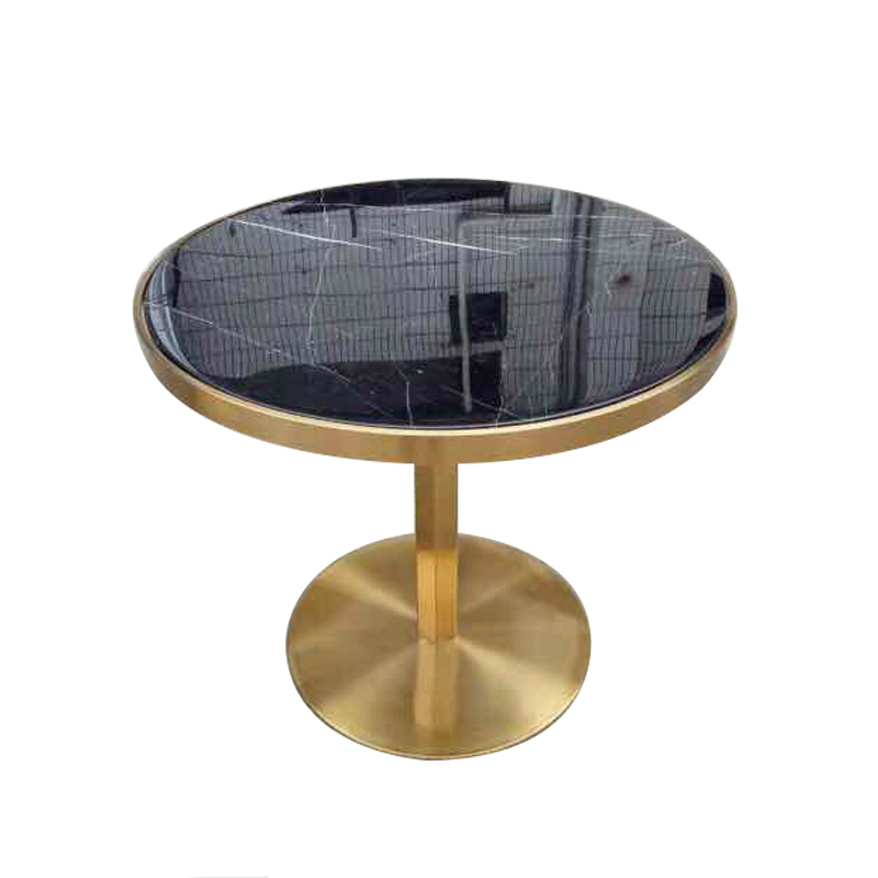 Luxury Brass Table Base Round Marble Top Coffee Table Buy Marble