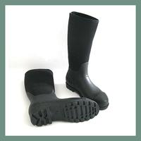 Women Fashion High Heel Non-slip Rain Boots Rubber Boots Water ...