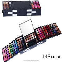 148 Color Professional Eyeshadow Makeup Palette maquillage Eye Shadow Lip Gloss Blusher Set Box Women Cosmetics