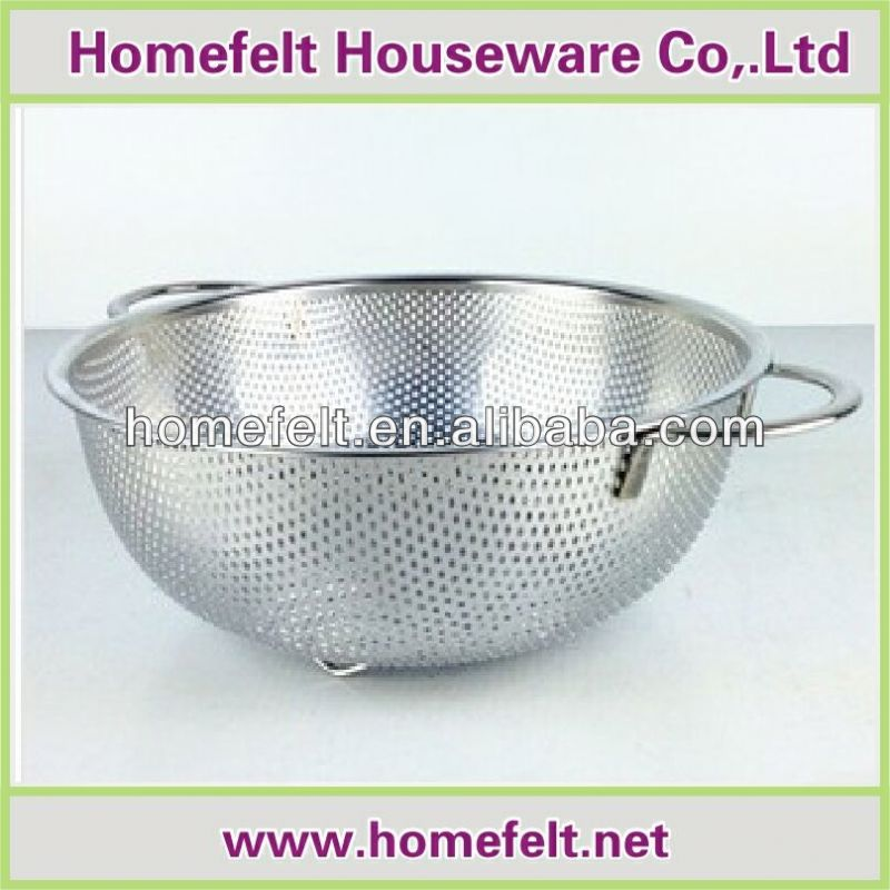 2014 hot selling colanders and strainers for resturant