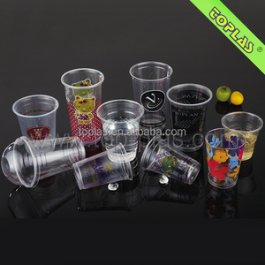 Custom Printed Plastic Cup ISO 9001Manufacturer
