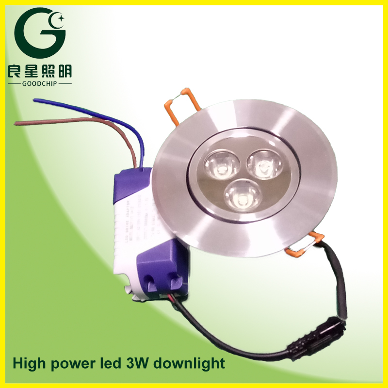 Super Brightness Epistar Led Downlight Review 6 Inch Kit 3x1w