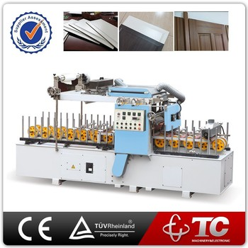 Upvc Door Frame Profile Wrapping Laminating Machine With Good ...
