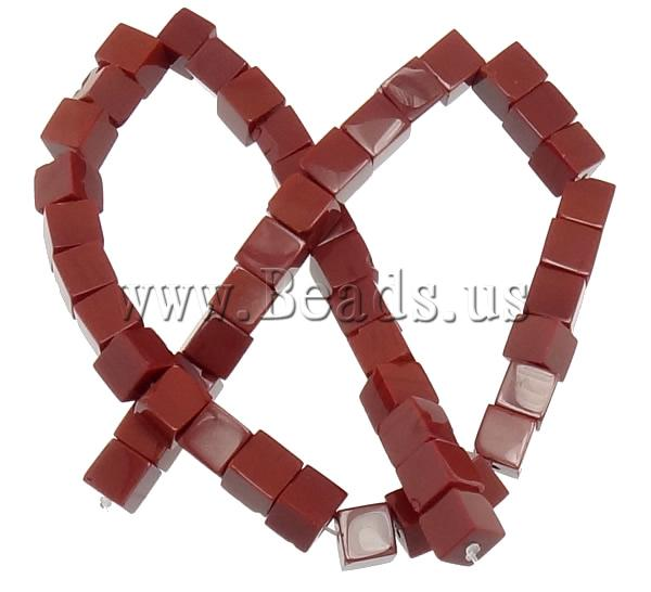 Free shipping!!!Jade Beads,, Jade Red, Cube, natural, 8x8x8mm, Hole:Approx 1mm, Length:Approx 15.5 Inch, 10Strands/Lot
