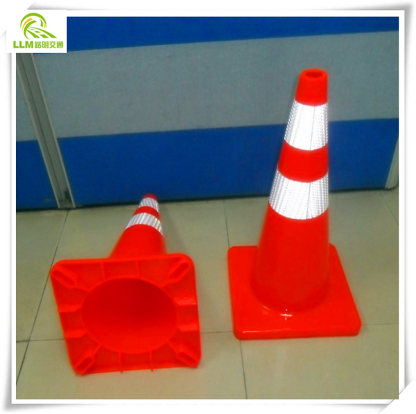Collapsible PVC Traffic Road Safety Cone