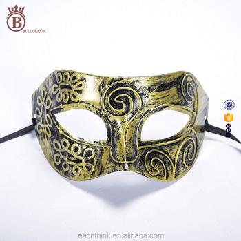 Erkek Plastik Retro Boya Karnaval Roma Prens Venedik Maske Buy