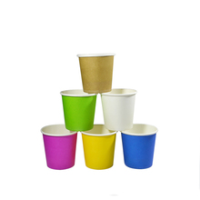 single wall paper cup mechine making and logo customized paper cups