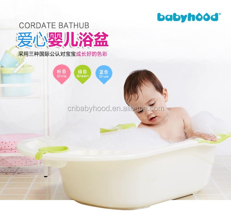 Bathtub For Newborn Baby,Baby Bath Bucket With Bath Support,Colorful ...