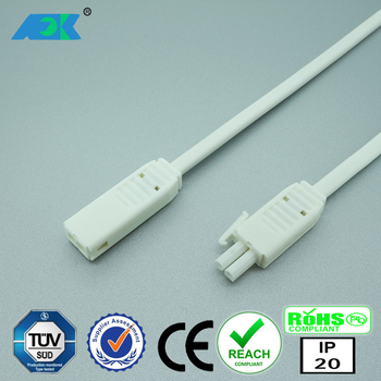 Dongguan Fongkit Led Mini Molex Cabling Harness Connector L811a For Furniture Cabinet And Display Lighting