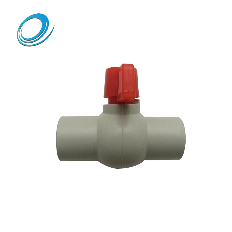 High quality PPR 110mm plastic ball valve pipe fitting good manufacturer