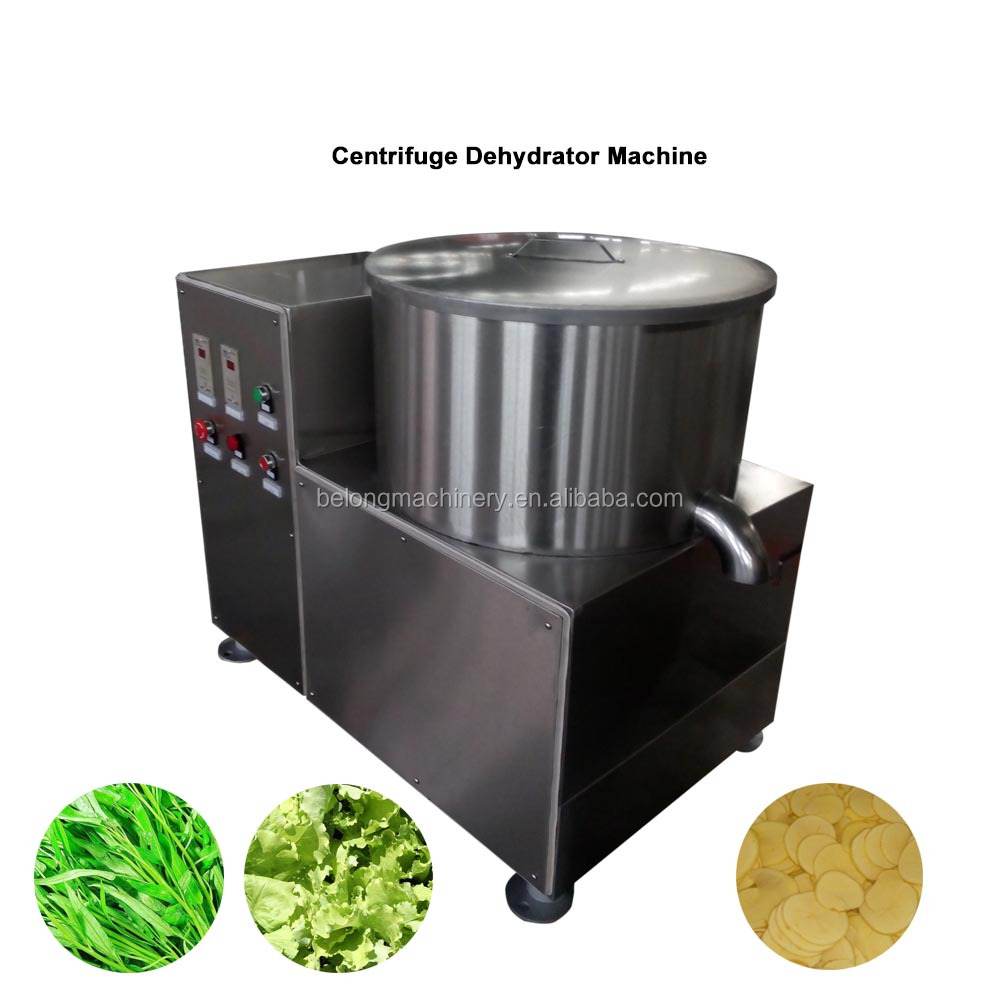 Industrial Centrifugal Vegetable Mushroom Spin Dryer Potato Dehydrator Machine