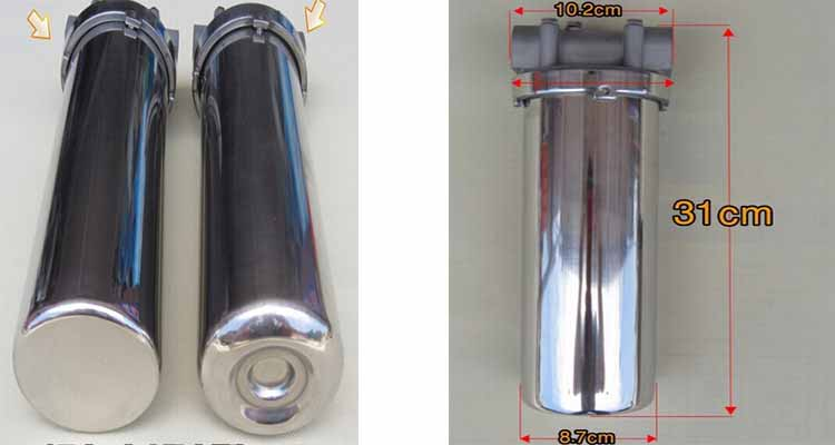 New design ISO stainless steel water filter housing cartridge filter housing/filter cartridge housing