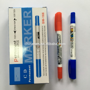 Small fast selling items mini CD/DVD permanent marker pen