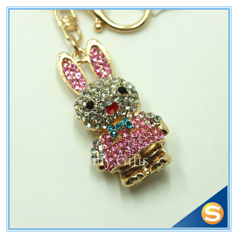 3D Animal Style Cartoon Rabbit Shape Cartoon Rabbit Shape For Multiple <strong>Keys</strong>
