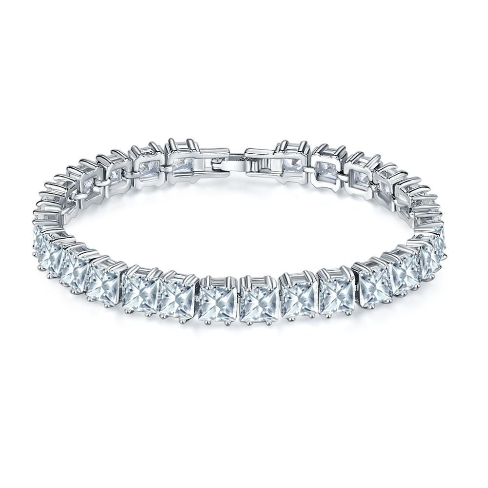 zircon moon women en bracelet