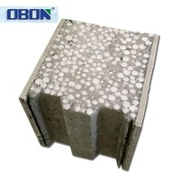 Fujian fireproof thermal insulation structural insulated eps cement sandwich wall panel price