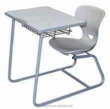 Modern Single School Furniture Table and Chair for Primary Student Study
