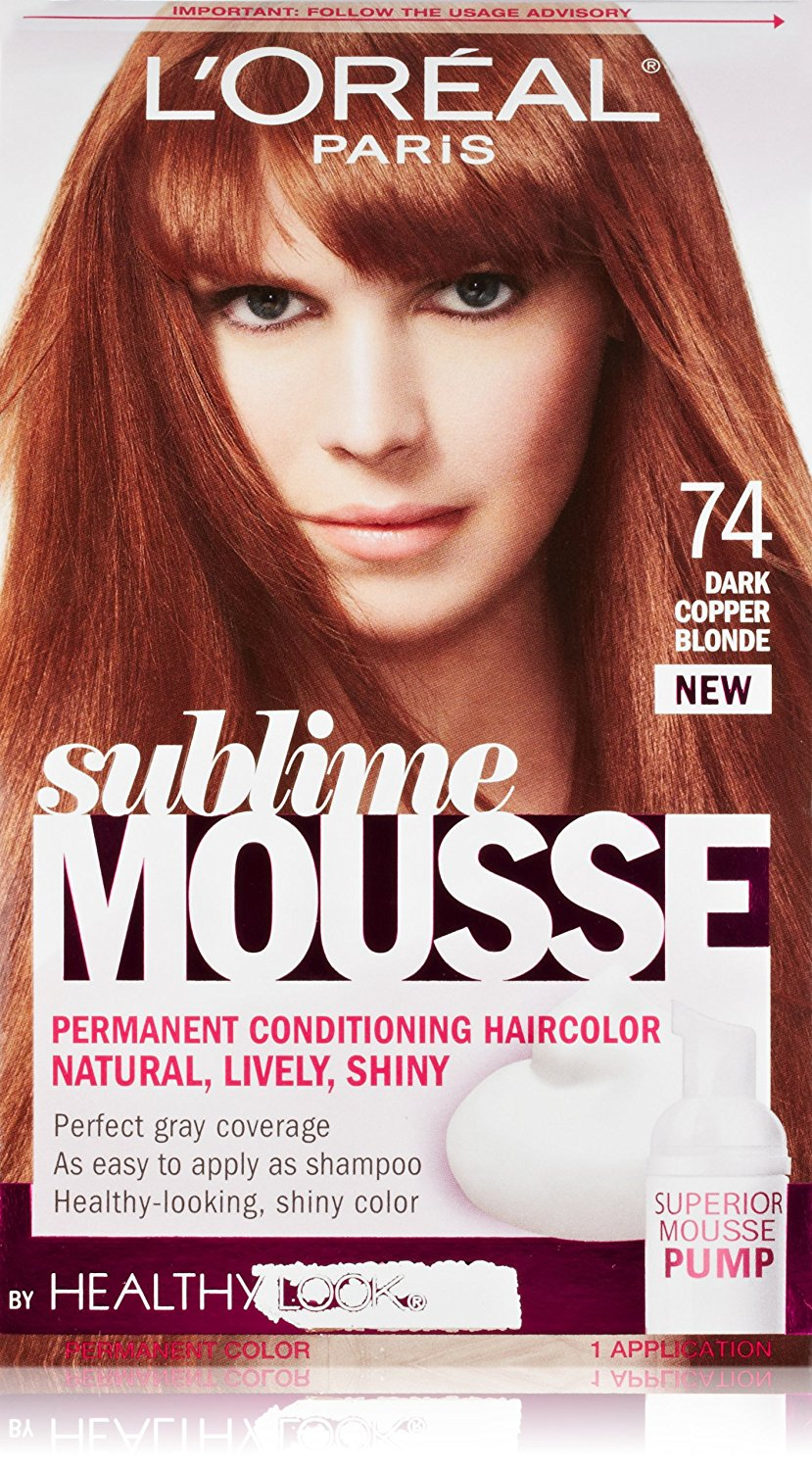 Buy Loreal Paris Sublime Mousse By Healthy Look Hair Color 74 Dark