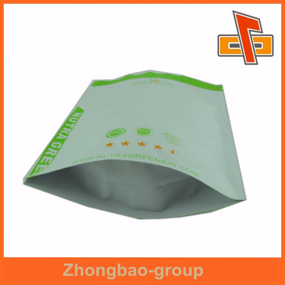 Environmental friendly food stand up milk powder pouch pack Zhongbao