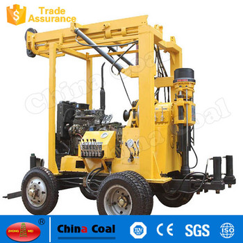 Surface Hydraulic Power Rock Drill Rig Automatic Water Well Drilling Equipment Machine