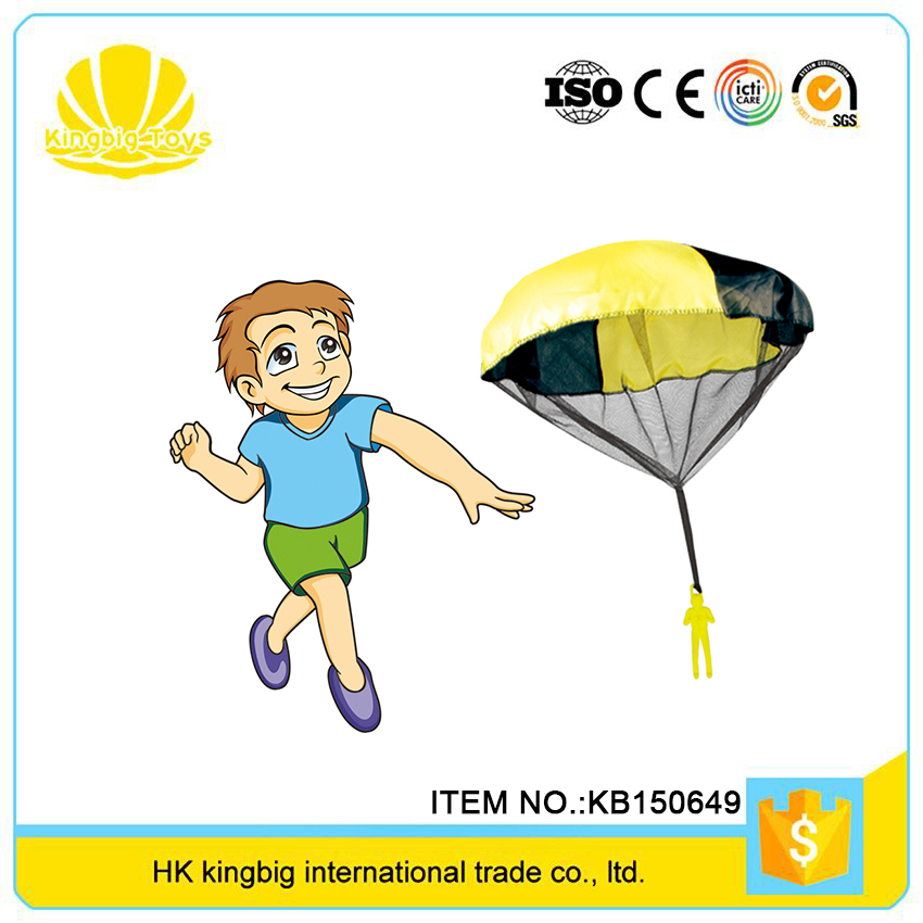 low price interesting playing soldiers mini parachute toy for kids