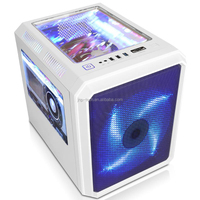 Micro ATX /Mini Cube ITX computer Gaming pc case support 240mm water cooling