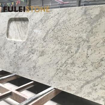 Prefab Kitchen Andromeda White Granite