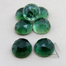 Hydro Chrome Diopside Round Natural Gemstone, Precious and Semi Precious Cabochon parcel