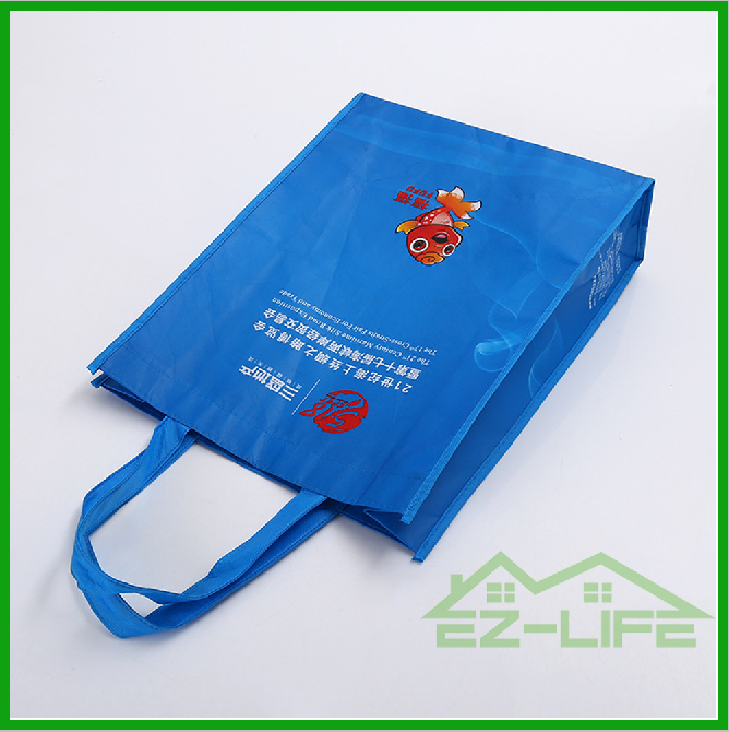 2017 Promotional custom cheap printed image recyclable pp laminated non woven shopping bag