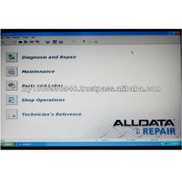 2013 Alldata 10.52+Mitchell on demand 2012 auto car pepair software in one 640G hard disk