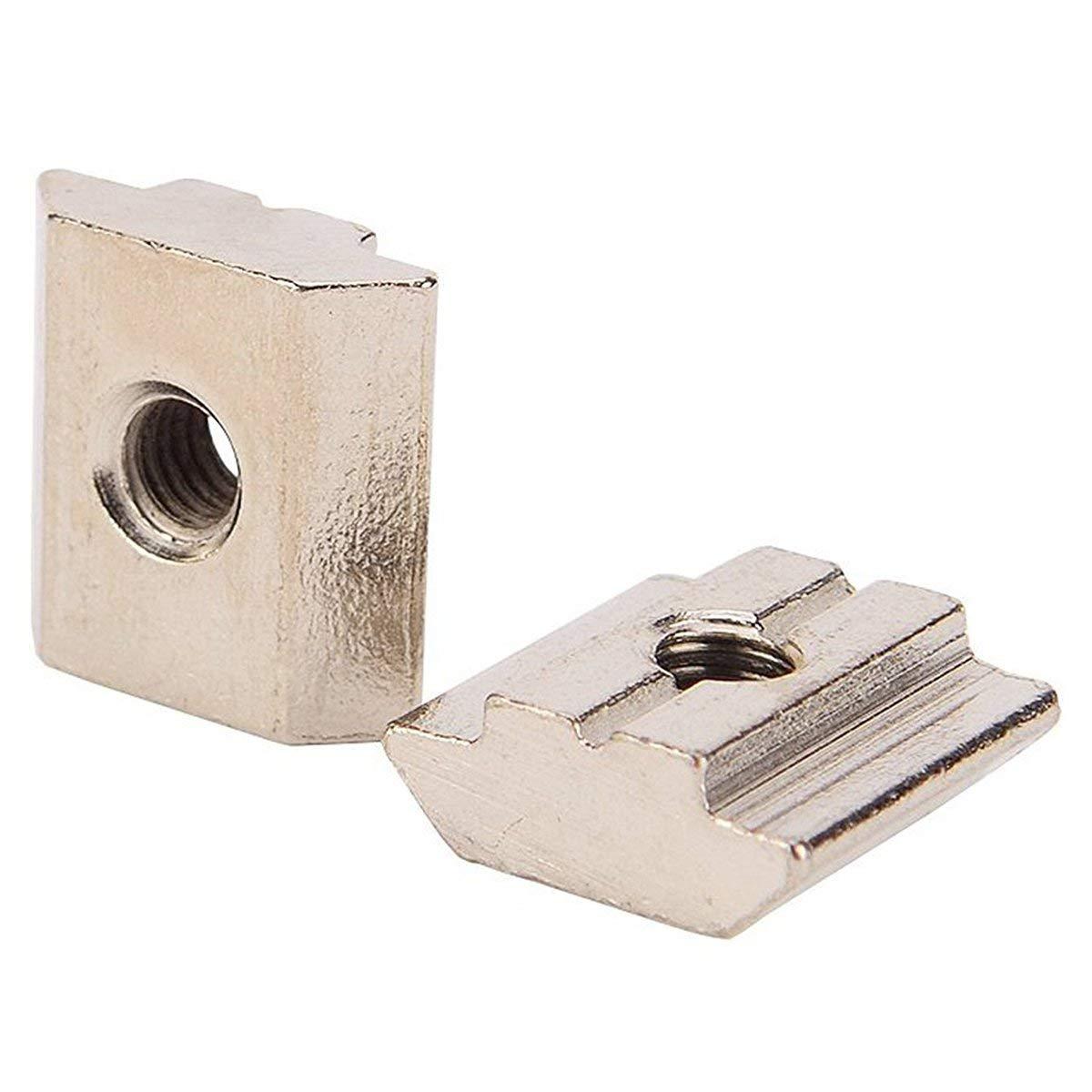 12-Pack The Hillman Group 44760 M6 x 11 x 19 Metric Tee Nut Brad Hole