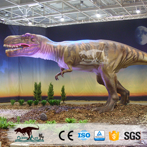 OAZ3136 New Era life size huge and Robotic dinosaur model for sale theme park game