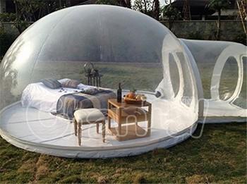 2016 top qualit gonflable transparent bulle tente camping. Black Bedroom Furniture Sets. Home Design Ideas