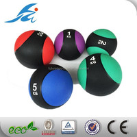 Double color leather medicine slam ball