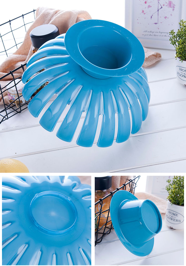 eco-friendly Detachable factory fruit tray PP plastic fruit plate for home decoration