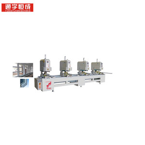4 head seamless welding machine c frame punch unit bvb25 buy pvc door maker with good after sale service