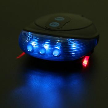 adb6f837c Bicicleta Lanterna Traseira LED Light 5 LED + 2 Lasers Noite Luzes de Aviso  de Segurança