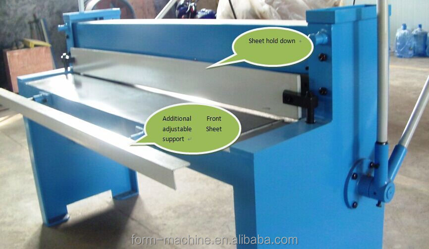 Manual Sheet Metal Shearing Machine Manual Guillotine